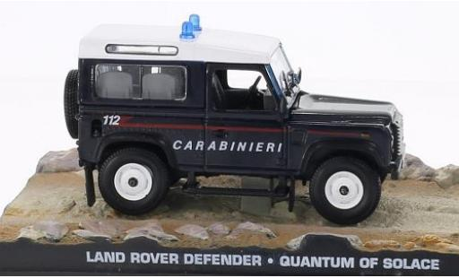 Land Rover Defender 1/18 SpecialC 007 Carabinieri James Bond 007 Ein Quantum Trost ohne Vitrine miniature