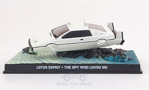 Lotus Esprit 1/43 SpecialC 007 U-Boot white James Bond 007 1977 Der Spion der mich liebte ohne Vitrine diecast model cars