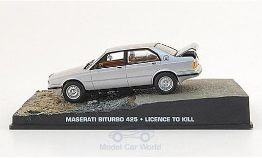 Maserati Biturbo 1/43 SpecialC 007 425 grey James Bond 007 1989 Lizenz zum Töten ohne Vitrine diecast model cars