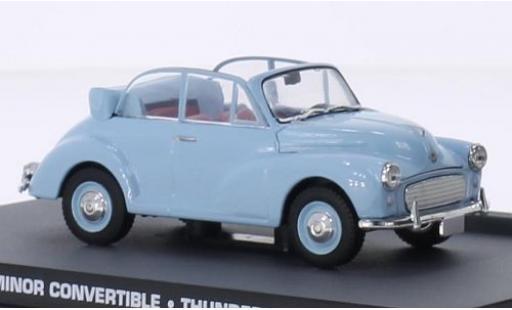 Morris Minor 1/43 SpecialC 007 Convertible blue James Bond 007 boule de feu sans Vitrine diecast model cars