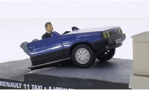 Renault 11 1/43 SpecialC 007 Taxi Half Car James Bond 007 Im Angesicht des Todes ohne Vitrine miniature