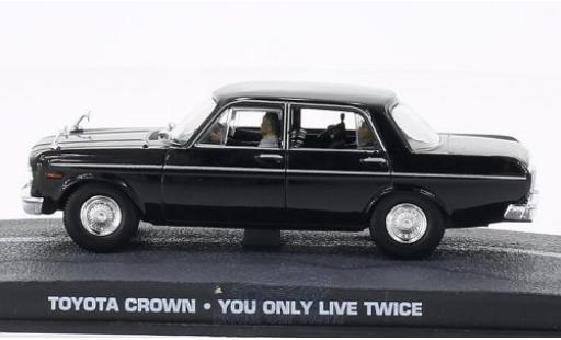 Toyota Crown 1/43 SpecialC 007 noire James Bond 007 Man lebt nur zweimal ohne Vitrine miniature