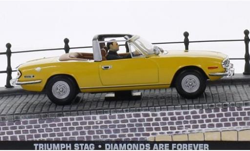 Triumph Stag 1/43 SpecialC 007 gelb RHD James Bond 007 Diamantenfieber ohne Vitrine modellautos