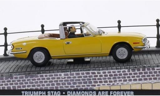 Triumph Stag 1/43 SpecialC 007 jaune RHD James Bond 007 Diamantenfieber ohne Vitrine miniature