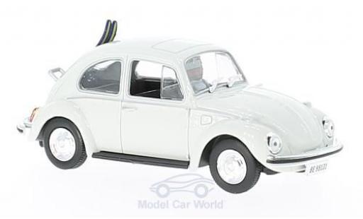 Volkswagen Beetle 1/43 SpecialC 007 blanche James Bond 007 Im Geheimdienst Ihrer Majestät ohne Vitrine miniature