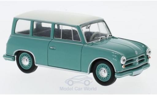 AWZ P70 1/18 SpecialC 108 Kombi turquoise/blanche miniature
