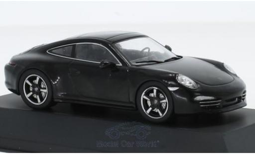 Porsche 991 1/43 SpecialC 111 911 Anniversary noire 2013 911 Collection miniature