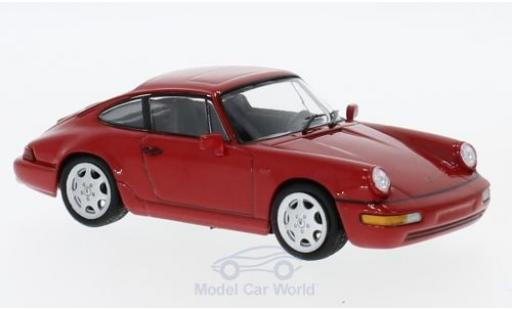 Porsche 964 SC 1/43 SpecialC 111 911 Carrera 4 rouge 1991 911 Collection miniature