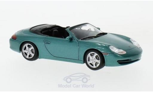 Porsche 996 SC 1/43 SpecialC 111 911 Carrera Cabriolet metallise verte 1999 911 Collection miniature