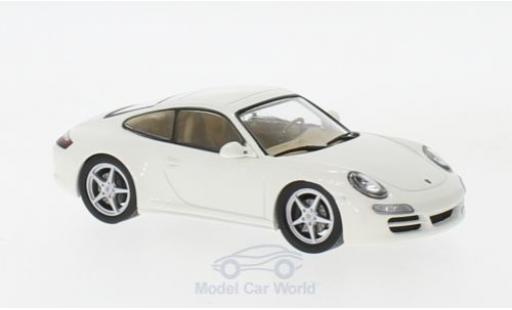 Porsche 997 SC 1/43 SpecialC 111 911 Carrera white 2004 911 Collection diecast model cars