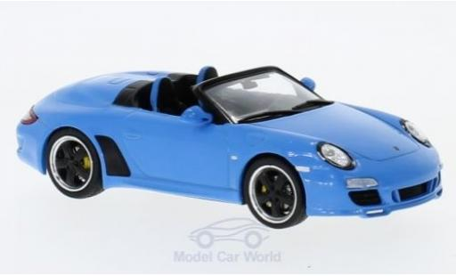 Porsche 997 Speedster 1/43 SpecialC 111 Speedster bleue 2010 Collection miniature