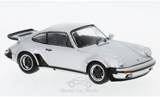 Porsche 930 Turbo 1/43 SpecialC 111 911 silber 1975 911 Collection modellautos