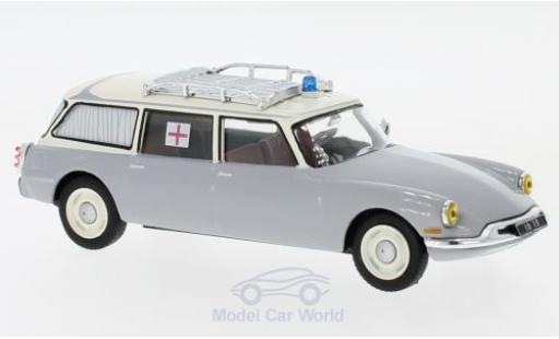 Citroen ID 19 1/43 SpecialC 112 Break grise/beige Ambulance 1962 ohne Vitrine miniature