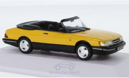 Saab 900 1/43 SpecialC 113 Cabriolet Monte Carlo jaune 1991 miniature