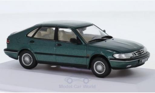 Saab 900 1/43 SpecialC 113 SE V6 metallise verte 1994 miniature