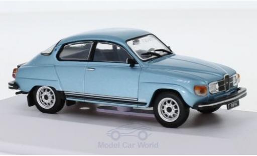 Saab 96 1/43 SpecialC 113 V4 metallise bleue 1980 miniature