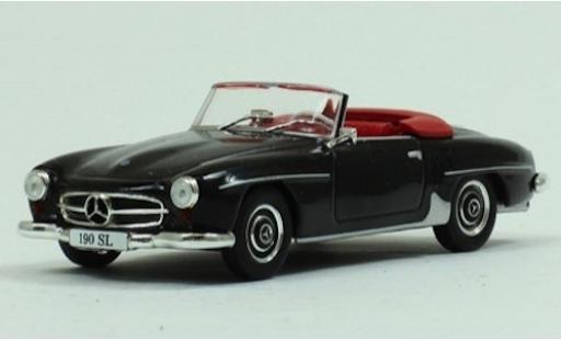 Mercedes 190 1/43 SpecialC 115 SL noire 1955 ohne Vitrine miniature