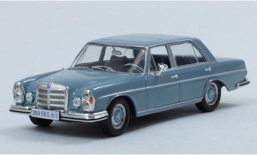 Mercedes 300 1/43 SpecialC 115 SEL 6.3 bleue 1969 ohne Vitrine miniature
