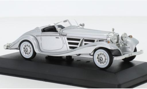 Mercedes 540 1/43 SpecialC 115 K Spezial-Roadster grise 1936 ohne Vitrine miniature