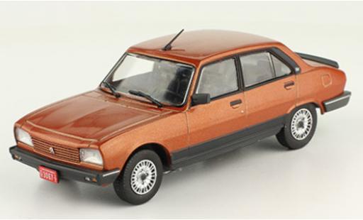 Peugeot 504 1/43 SpecialC 120 GR TN kupfer 1985 coche miniatura