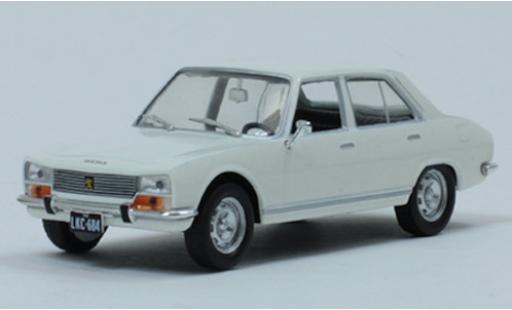 Peugeot 504 1/43 SpecialC 120 blanco 1969 coche miniatura
