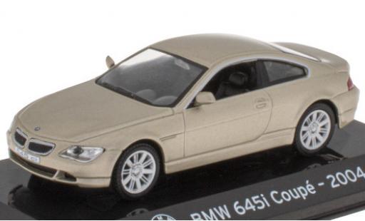 Bmw 645 1/43 SpecialC 121 i (E63) metallise beige 2004 diecast model cars