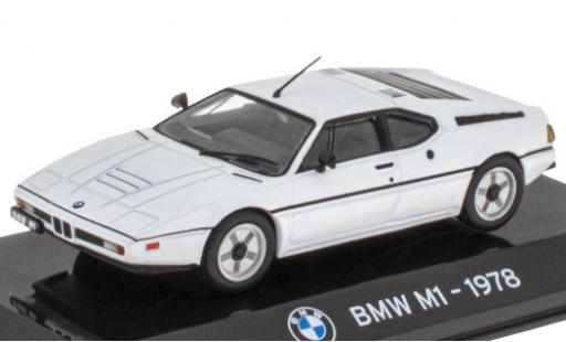 Bmw M1 1/43 SpecialC 121 white 1978 diecast model cars