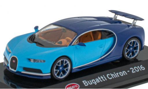 Bugatti Chiron 1/43 SpecialC 121 bleue/bleue 2016 miniature