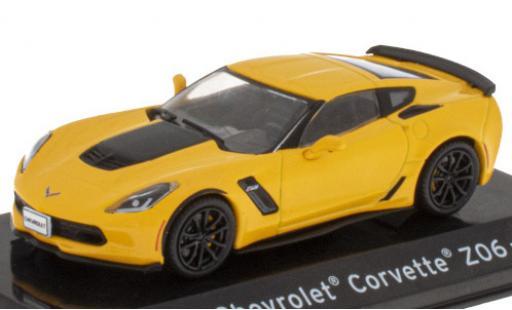 Chevrolet Corvette 1/43 SpecialC 121 Z06 (C7) yellow/matt-black 2009 diecast model cars