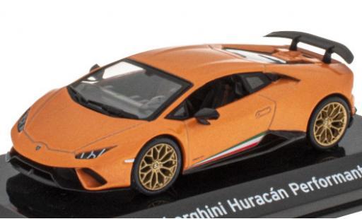 Lamborghini Huracan 1/43 SpecialC 121 Performante metallise orange/Dekor 2017 miniature