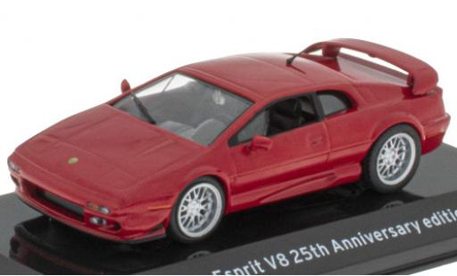 Lotus Esprit 1/43 SpecialC 121 V8 25th Anniversary Edition red 2002 diecast model cars