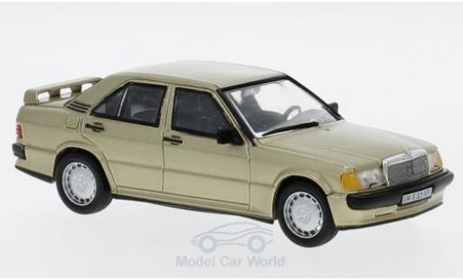 Mercedes 190 1/43 SpecialC 16 E 2.3-16V (W201) métallisé beige 1984 ohne Vitrine miniature