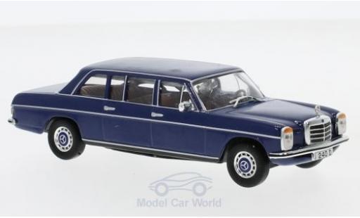 Mercedes 240 1/43 SpecialC 16 D (V115) bleue 1973 ohne Vitrine miniature