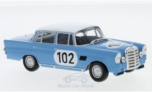 Mercedes 300 1/43 SpecialC 16 SE (W112) No.102 24h Spa 1964 R.Crevits/G.Gosselin ohne Vitrine miniature