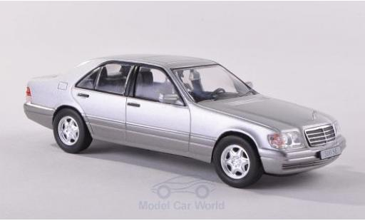 Mercedes 500 1/43 SpecialC 16 SE (W140) grise 1991 ohne Vitrine miniature