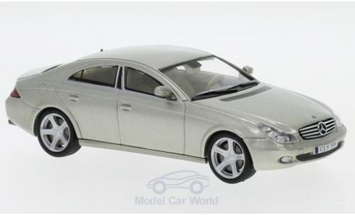 Mercedes CLS 1/43 SpecialC 16 500 (C219) metallise verte 2004 ohne Vitrine miniature