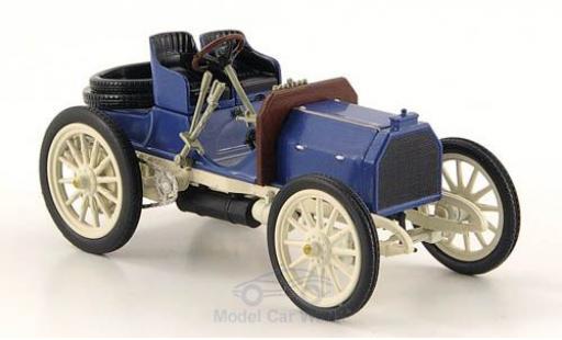 Mercedes Simplex 1/43 SpecialC 16 40 PS blue/grey 1902 ohne Vitrine diecast model cars