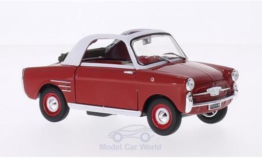 Autobianchi Bianchina 1/18 SpecialC 19 Transformabile rouge/blanche 1958 ohne Vitrine miniature