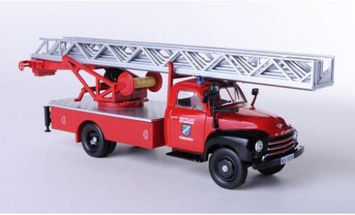 Opel Blitz 1/43 SpecialC 40 Freiwillige Feuerwehr Vöhringen 1952 sans Vitrine miniature