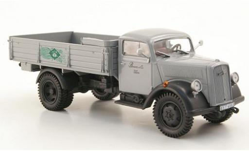 Opel Blitz 1/43 SpecialC 40 Pritsche grise 1952 sans Vitrine miniature