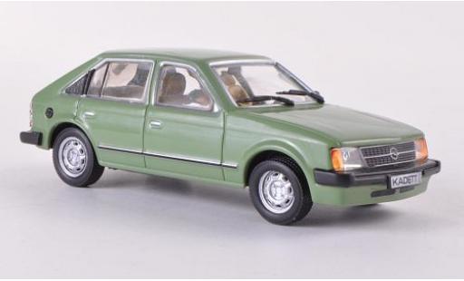 Opel Kadett 1/43 SpecialC 40 D 1.6S verte 1979 5-portes sans Vitrine sans magazine sans Vitrine miniature