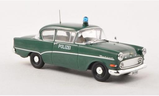 Opel Rekord 1/43 SpecialC 40 P1 1957 police (ohne magasin sans Vitrine miniature
