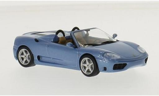 Ferrari 360 1/43 SpecialC 45 Spider metallise bleue sans Vitrine miniature