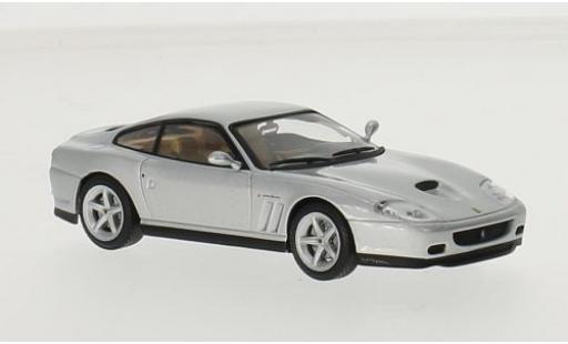 Ferrari 575 1/43 SpecialC 45 M Maranello grise sans Vitrine miniature