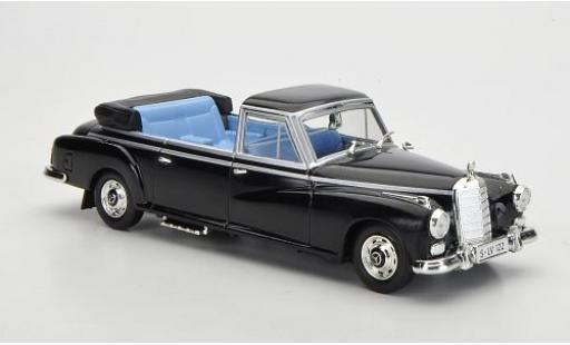 Mercedes 300 1/43 SpecialC 56 Landaulet Konrad Adenauer 1963 sans Vitrine diecast model cars