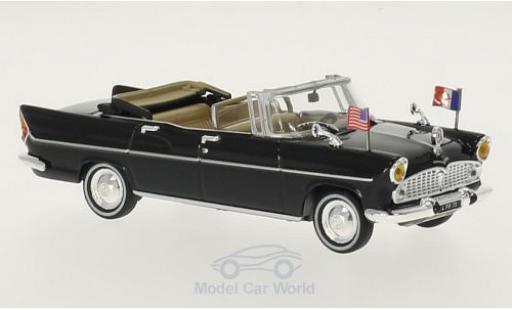 Simca Chambord 1/43 SpecialC 56 V-8 Presidentielle black Charles de Gaulle 1961 ohne Vitrine diecast model cars