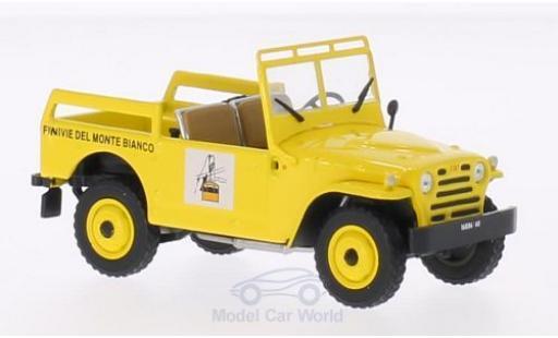 Fiat Campagnola 1/43 SpecialC 69 Funnivie Del Monte Bianco 1963 ohne Vitrine miniature