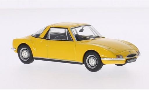 Matra 530 1/43 SpecialC 73 jaune 1968 sans Vitrine miniature