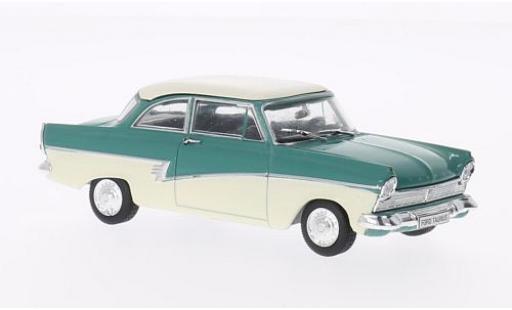 Ford Taunus 1/43 SpecialC 74 17M turquoise/beige sans Vitrine miniature