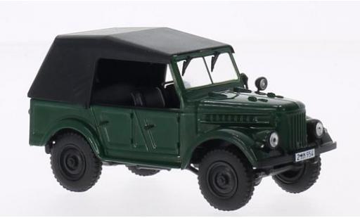 Gaz 69A 1/43 SpecialC 75 GAZ verte sans Vitrine miniature